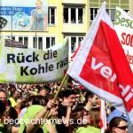 ver.di-Streikkundgebung