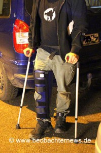 Verletzter Pressefotograf der Beobachter News