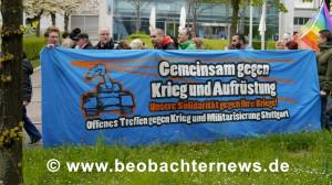 Transpi des OTKM - Stuttgart