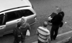Hausdurchsuchungen in Stuttgart Foto: indymedia