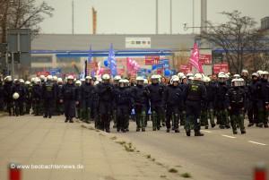 """Polizeischutz für """"Bildungsplangegner"""""""