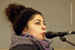 Sprecherin des OTKM (Offenen Treffens gegen Krieg und Militarisierung) Stuttgart