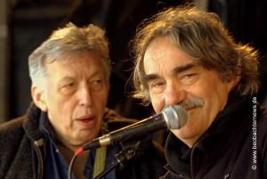Hans Reffert (links) und Bernd Köhler von Ewo2