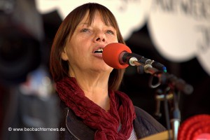 Dagmar Schorsch-Brandt, stellvertretende ver.di Landesbezirksleiterin