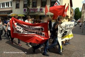 Antifaschistische Spontandemonstration