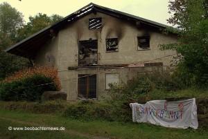 Brandanschlag in Remchingen - 18.07.2015