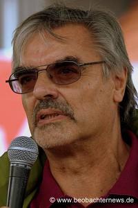 Bernhard Strasdeit, Landesgeschäftsführer der Linken aus Tübingen