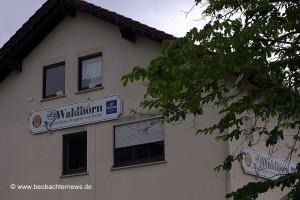 Das Waldhorn - bald Stützpunkt für Neonazis?
