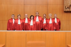 Bundesverfassungsgericht Zweiter Senat - © Bundesverfassungsgericht │ lorenz.fotodesign, Karlsruhe