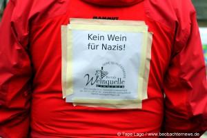 Kein Wein für Nazis