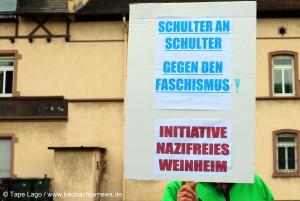 Schulter an Schulter gegen den Faschismus