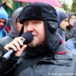 Versammlungsleiter Michael Csaszkóczy