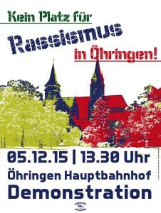 Demonstration Kein Platz für Rassismus und rechte Hetze in Öhringen!-1_904x1200
