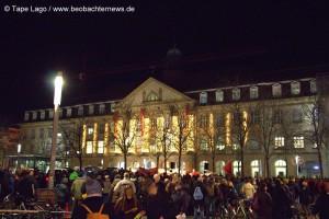 """Starke Protestbewegung gegen den """"Widerstand"""""""