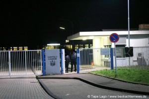 Flüchtlingsunterkunft Kurpfalz-Kaserne.
