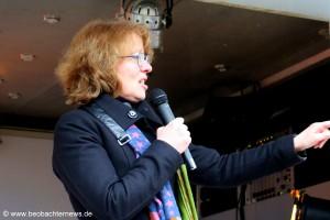 Tabea Rößner, Sprecherin des Bündnis für Pressefreiheit