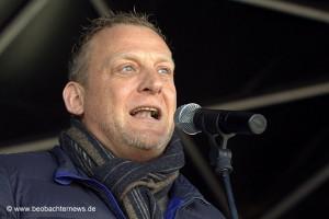 Roman Zitzelsberger, Bezirksleiters der IG Metall Baden-Württemberg