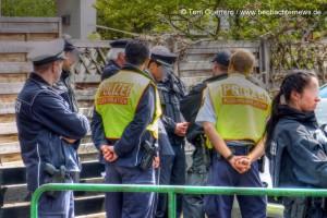 """Polizeiführung berät über die Einschätzung der """"Gefahrenlage"""""""