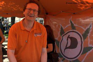 Stefan Urbat, Stadtrat der Stuttgarter Piraten