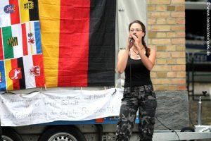 Ester Seitz in Aktion