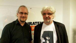 Michael Knödler (links) und Harald Hermann - Foto: Piratenpartei Stuttgart