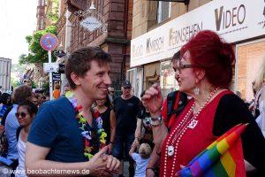 Christoph Ozasek und Laura Halding-Hoppenheit