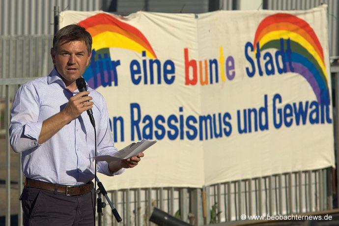 Bürgermeister Ian Schölzel