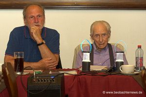 Theo Bergmann (rechts) und Erhard Korn