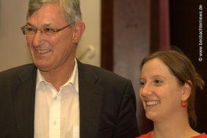 Johanna Tiarks und Bernd Riexinger